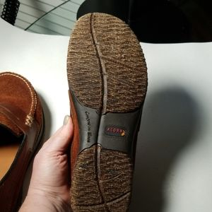 Acorn Shoes - Acorn Suede and Leather Loafers